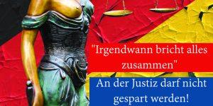 Netzseite Justiz